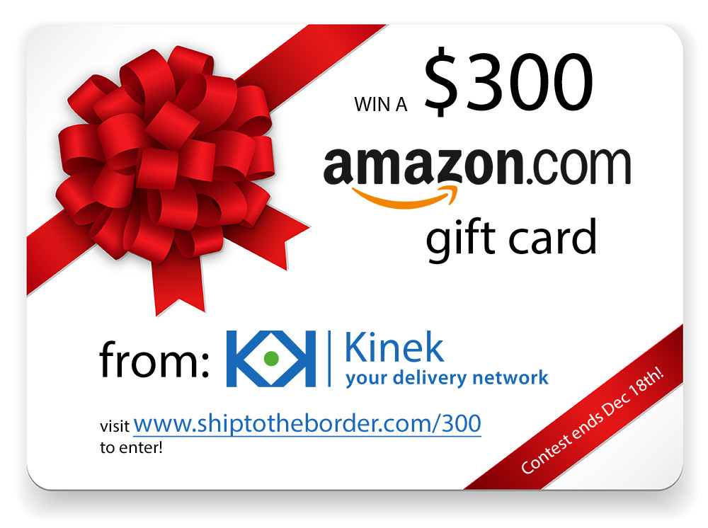 Amazon $300 gift card contest